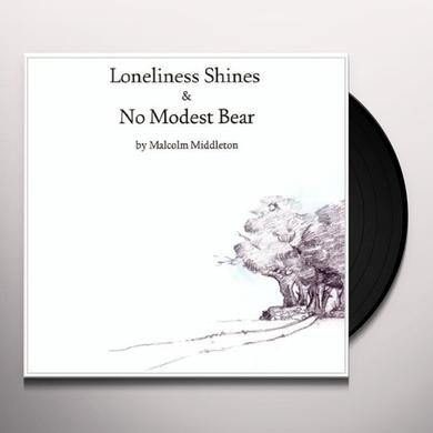 Malcolm Middleton NO MODEST BEAR / LONELINESS SHINES Vinyl Record