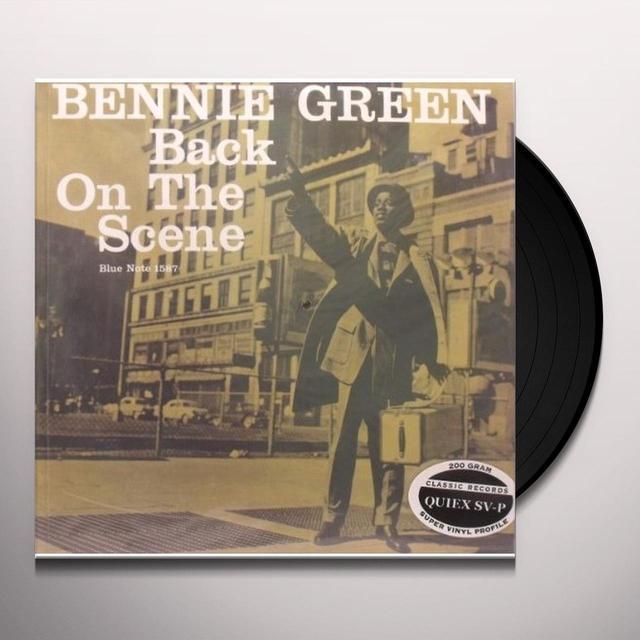 Benny Green BACK ON THE SCENE (MONO) (Vinyl)