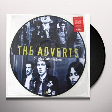 Adverts SINGLES COLLECTION (PICTURE DISC) Vinyl Record
