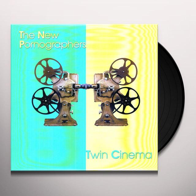 The New Pornographers TWIN CINEMA Vinyl Record