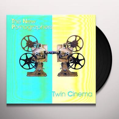 The New Pornographers TWIN CINEMA Vinyl Record