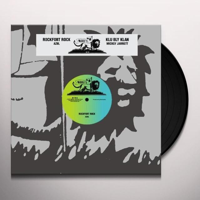 Azul ROCKFORT ROCK Vinyl Record