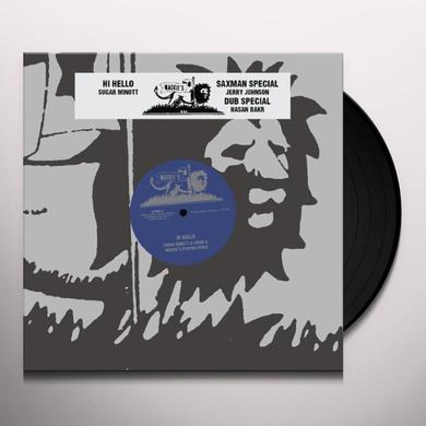 Sugar Minott HI HELLO (EP) Vinyl Record