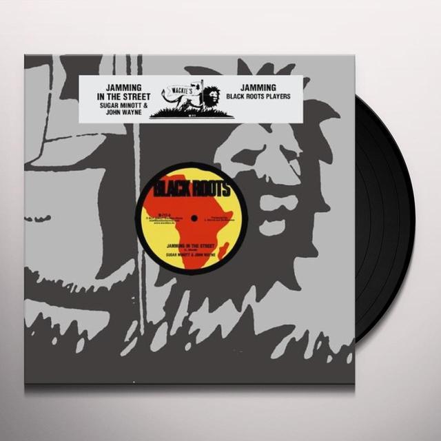 Sugar Minott JAMMING IN THE STREET Vinyl Record