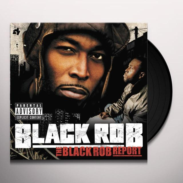 BLACK ROB REPORT Vinyl Record