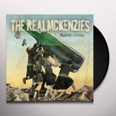 The Real McKenzies 10,000 SHOTS Vinyl Record