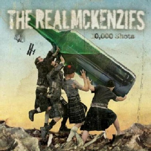 The Real McKenzies 10,000 SHOTS Vinyl Record