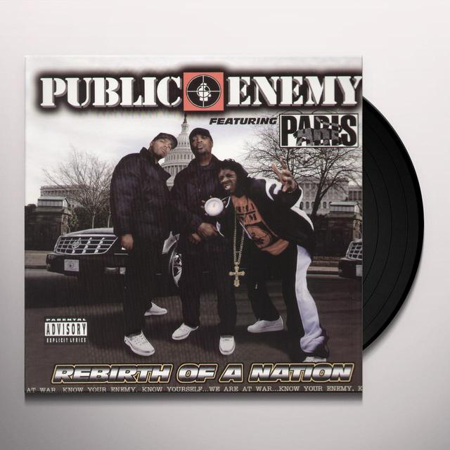 Public Enemy REBIRTH OF A NATION Vinyl Record