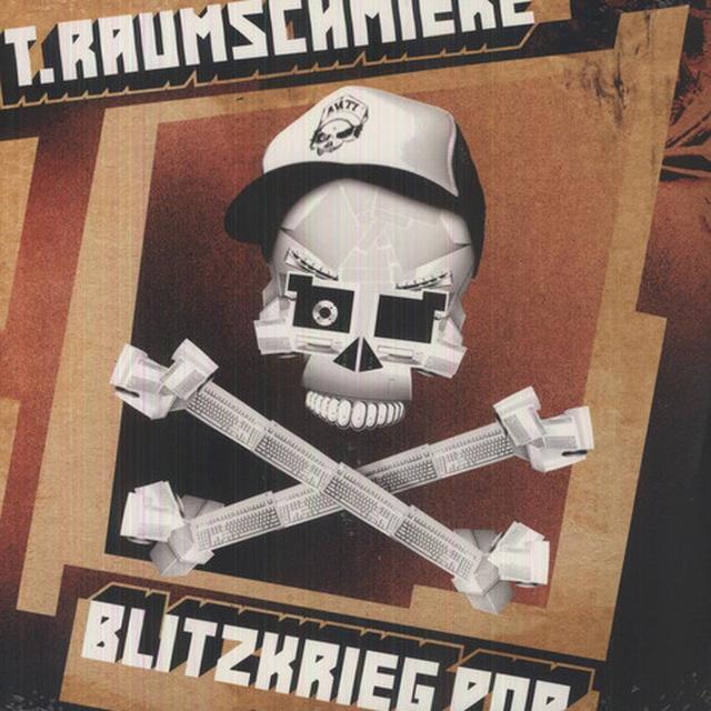 T Raumschmiere BLITZKRIEG POP Vinyl Record - Limited Edition