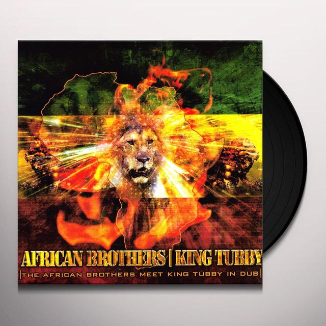 King Tubby / African Brothers AFRICAN BROTHERS MEET KING TUBBY IN DUB Vinyl Record