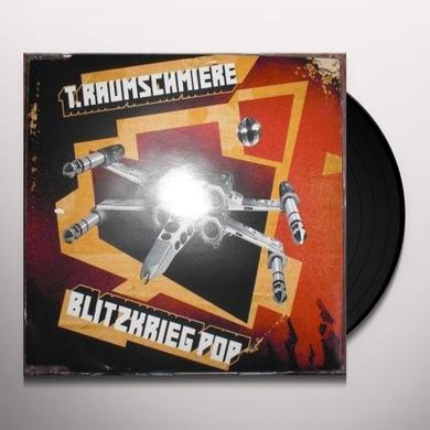 T Raumschmiere BLITZKRIEG POP Vinyl Record - Remixes