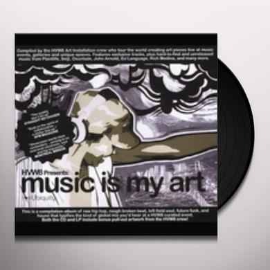 MUSIC IS MY ART / VARIOUS Vinyl Record