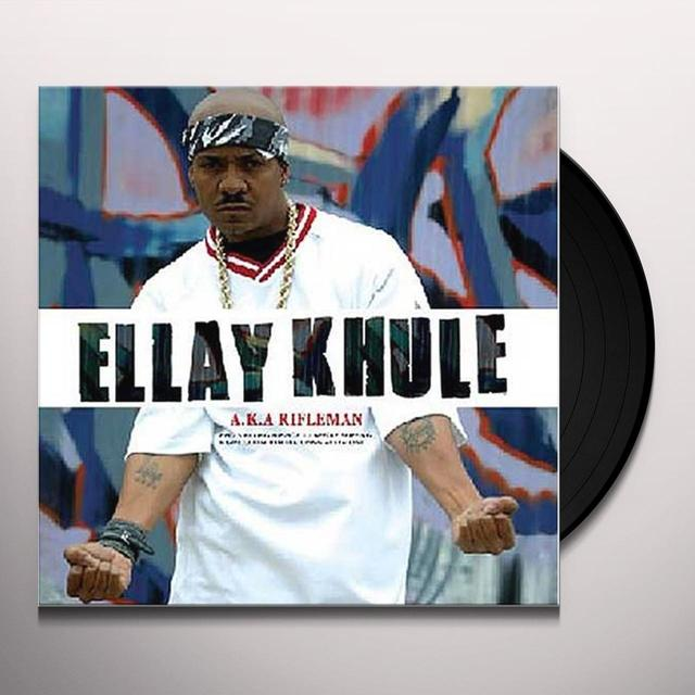 Ellay Aka Rifleman Khule WHO'S KILLING HIP HOP Vinyl Record