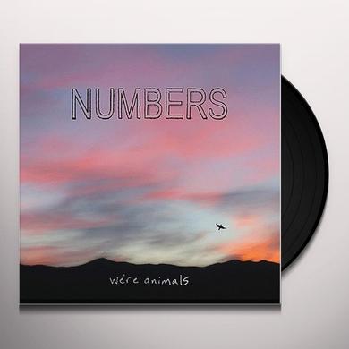 Numbers WE'RE ANIMALS Vinyl Record