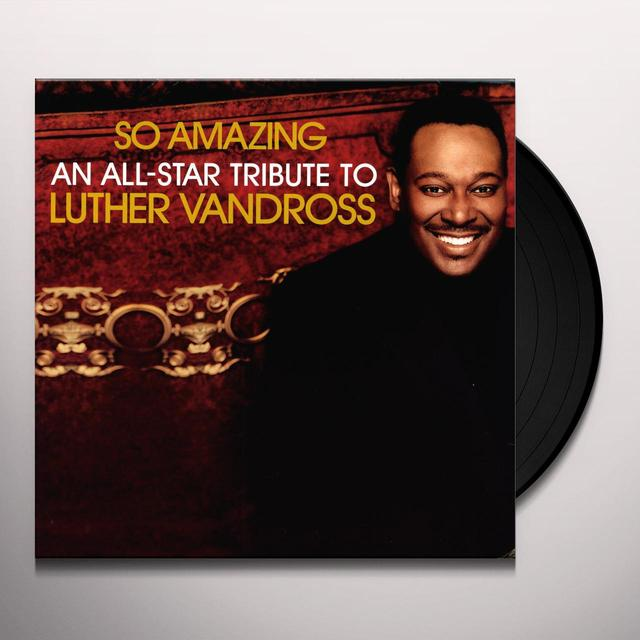 SO AMAZING: ALL STAR TRIBUTE LUTHER VANDROSS / VAR (Vinyl)