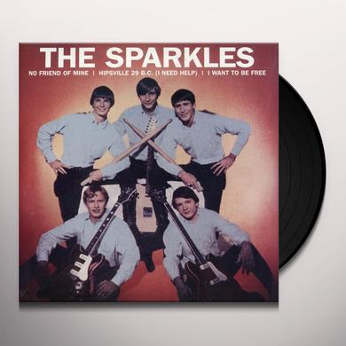 SPARKLES NO FRIEND OF MINE: HIPSVILLE 29 B.C. / I WANT TO Vinyl Record