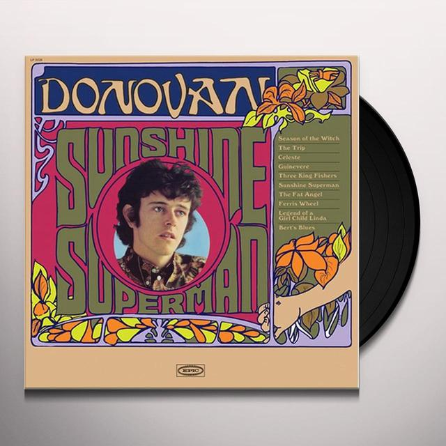 Donovan SUNSHINE SUPERMAN Vinyl Record