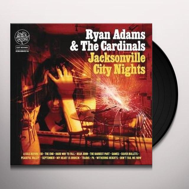 Ryan Adams JACKSONVILLE CITY NIGHTS Vinyl Record - 180 Gram Pressing