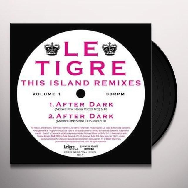 Le Tigre THIS ISLAND REMIXES 1 Vinyl Record