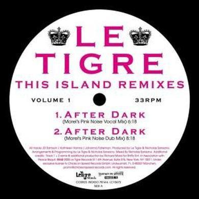 Le Tigre THIS ISLAND REMIXES 1 Vinyl Record