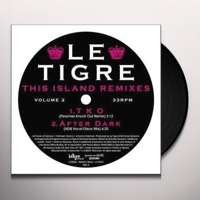 Le Tigre THIS ISLAND REMIXES 2 Vinyl Record