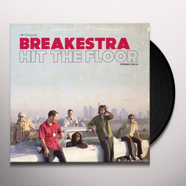 Breakestra HIT THE FLOOR Vinyl Record