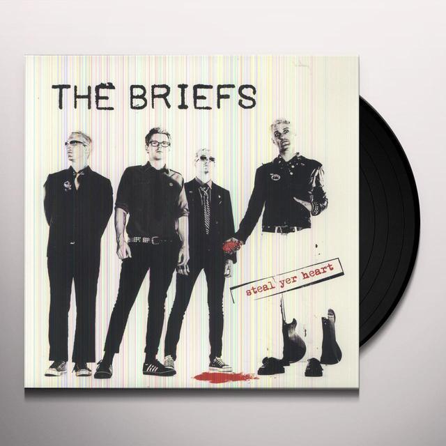 Briefs STEAL YER HEART Vinyl Record