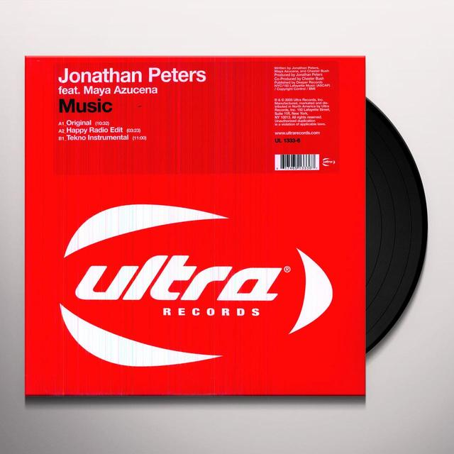 Jonathan Peters MUSIC Vinyl Record