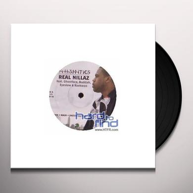 Mathematics REAL NILLAZ Vinyl Record