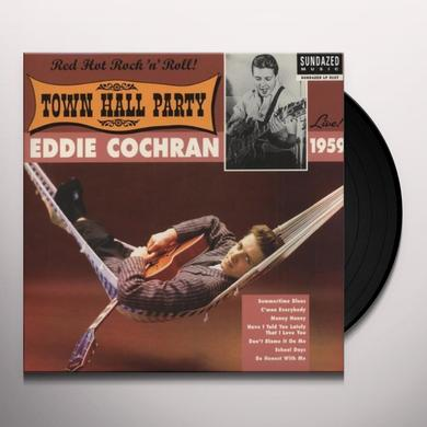 Eddie Cochran LIVE AT TOWN HALL PARTY 1959 Vinyl Record