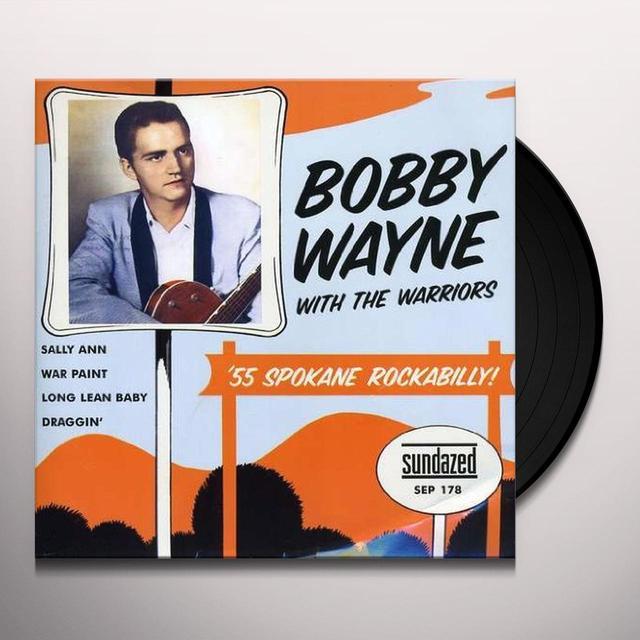 Bobby With His Warriors Wayne SALLY ANN Vinyl Record
