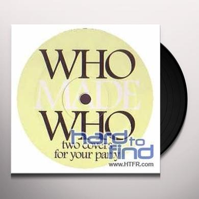 Whomadewho SATISFACTION / FLAT BEAT Vinyl Record