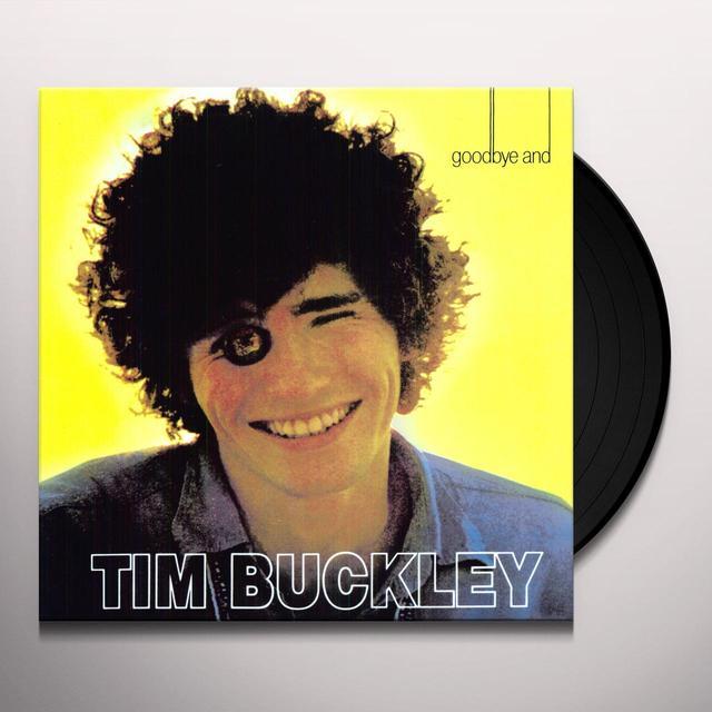 Tim Buckley GOODBYE & HELLO Vinyl Record