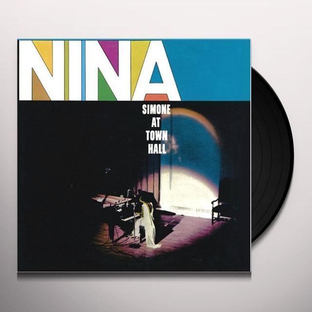 Nina Simone NINA AT TOWN HALL Vinyl Record