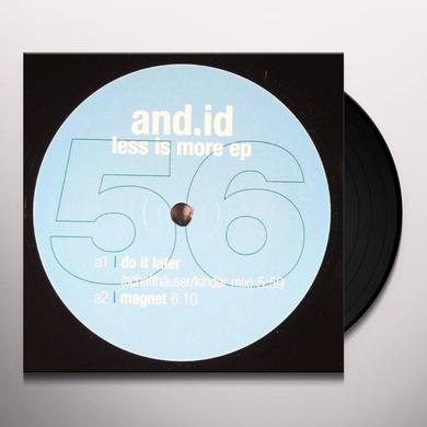 And.Id LESS IS MORE Vinyl Record