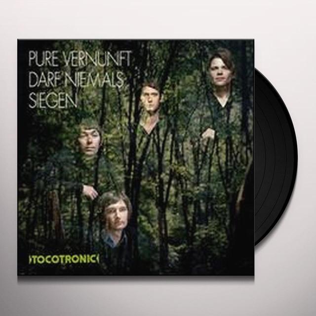 Tocotronic PURE VERNUNFT DARF NIEMALS SIEGEN Vinyl Record