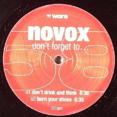 Novox DON'T FORGET TO Vinyl Record