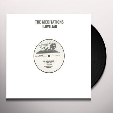 Meditations I LOVE JAH Vinyl Record - Reissue