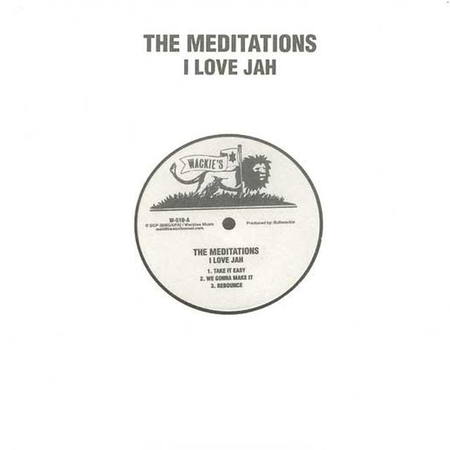 Meditations I LOVE JAH Vinyl Record
