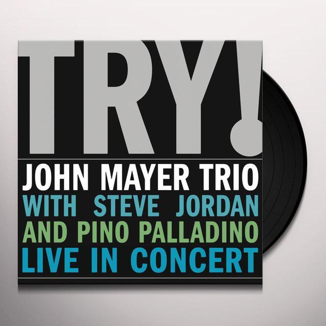 JOHN MAYER TRIO LIVE Vinyl Record