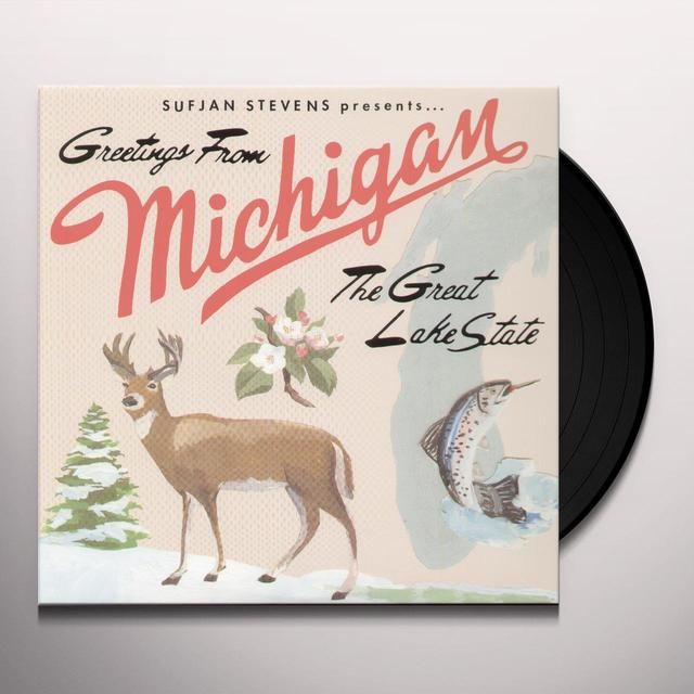 Sufjan Stevens MICHIGAN Vinyl Record