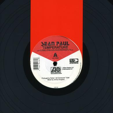 Sean Paul TEMPERATURE Vinyl Record