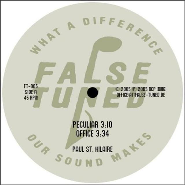 Paul St Hilaire PECULIAR Vinyl Record