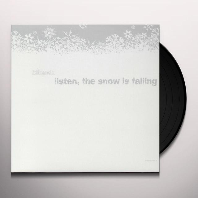 Klimek LISTEN THE SNOW IS FALLING (EP) Vinyl Record
