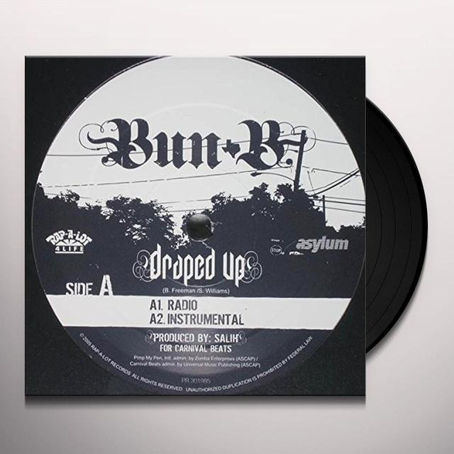 Bun B DRAPED UP Vinyl Record