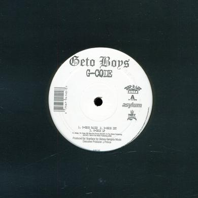 Geto Boys G-CODE Vinyl Record