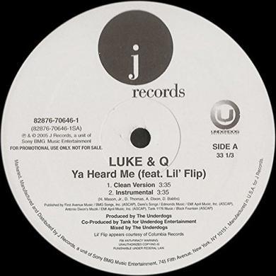 Luke & Q YA HEARD ME (X4) Vinyl Record