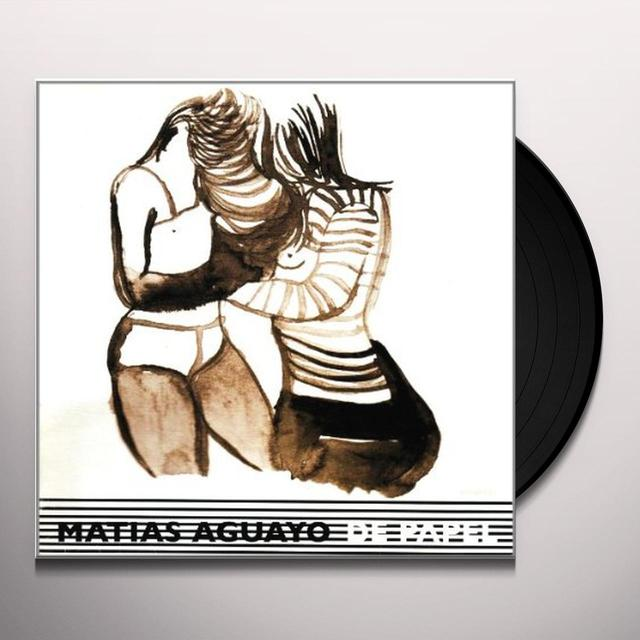 Matias Aguayo DE PAPEL Vinyl Record