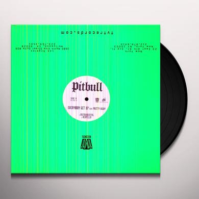 Pitbull EVERYBODY GET UP Vinyl Record
