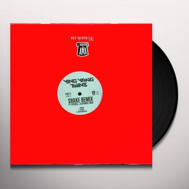Ying Yang Twins SHAKE: SHAKE REMIX Vinyl Record